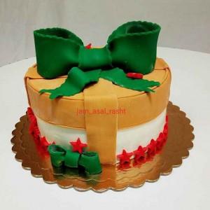 کیک خانگی جام عسل در رشت