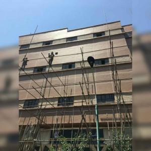 داربست فلزی و کفراژ امیران تهران