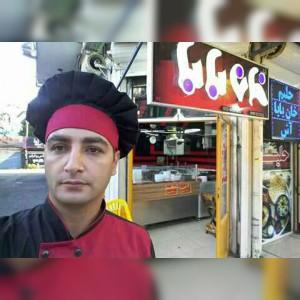 حلیم و آش قلمکار خان بابا در انزلی