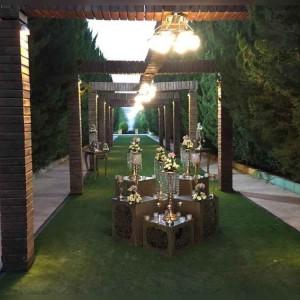 باغ و تشریفات مجلل فرزانه در شیراز