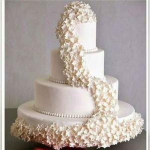 کیک تولد و شیرینی رنگین کمان