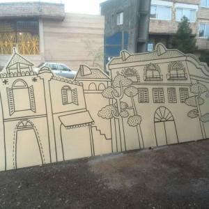 درب و نرده تکسازان شرق