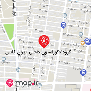 نقشه گروه دکوراسیون داخلی تهران کابین