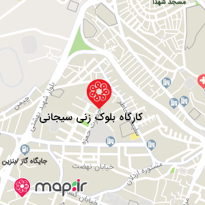 نقشه کارگاه بلوک زنی سیجانی