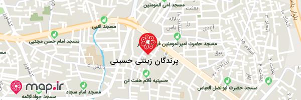نقشه پرندگان زینتی سید مجتبی حسینی