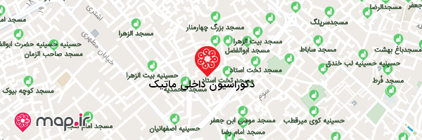 نقشه دکوراسیون داخلی ماتیک