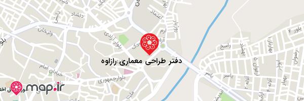 نقشه صلاح امانی آرشیتکت و مهندس ناظر